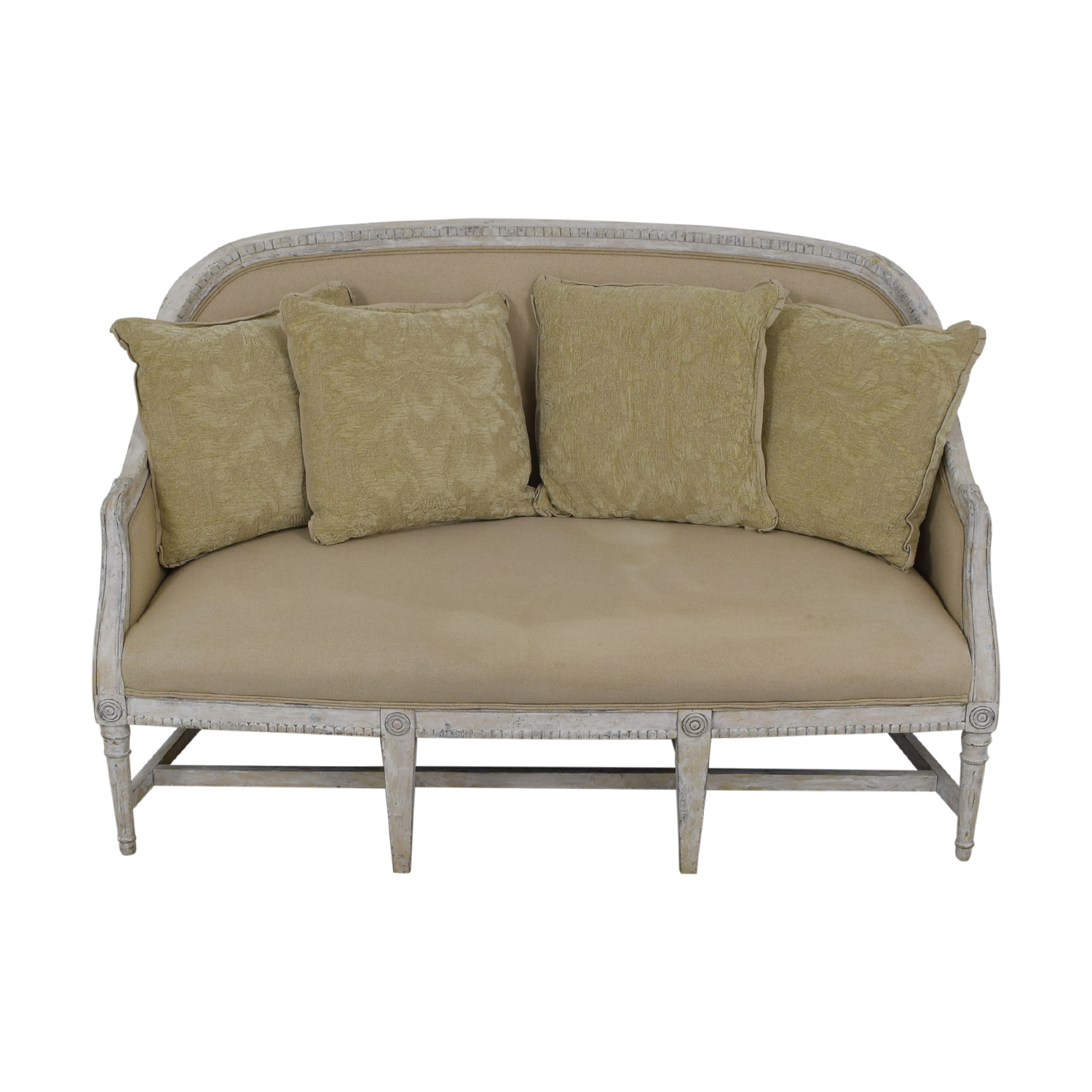 Horchow Horchow Alysa Settee dimensions