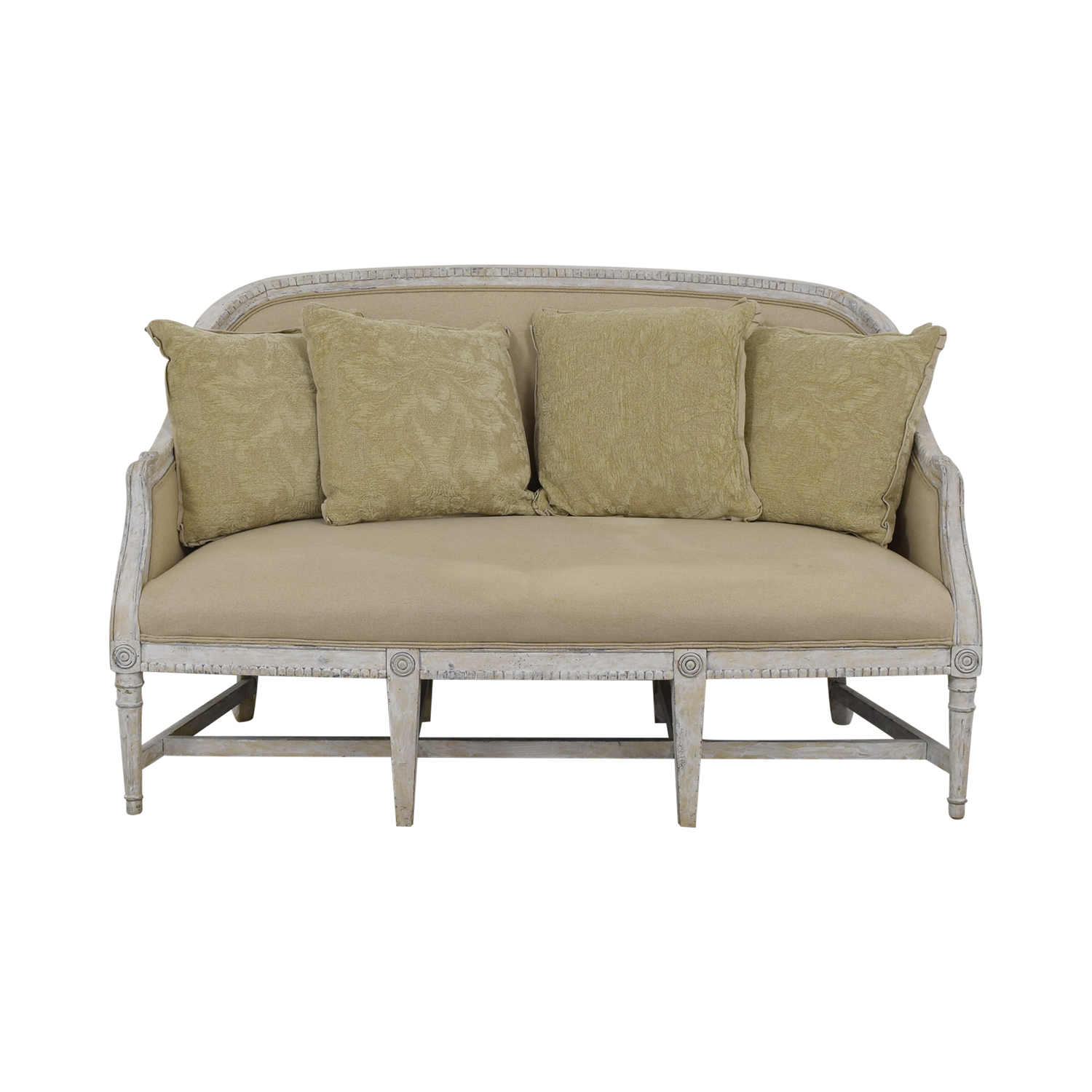 Horchow Alysa Settee / Classic Sofas
