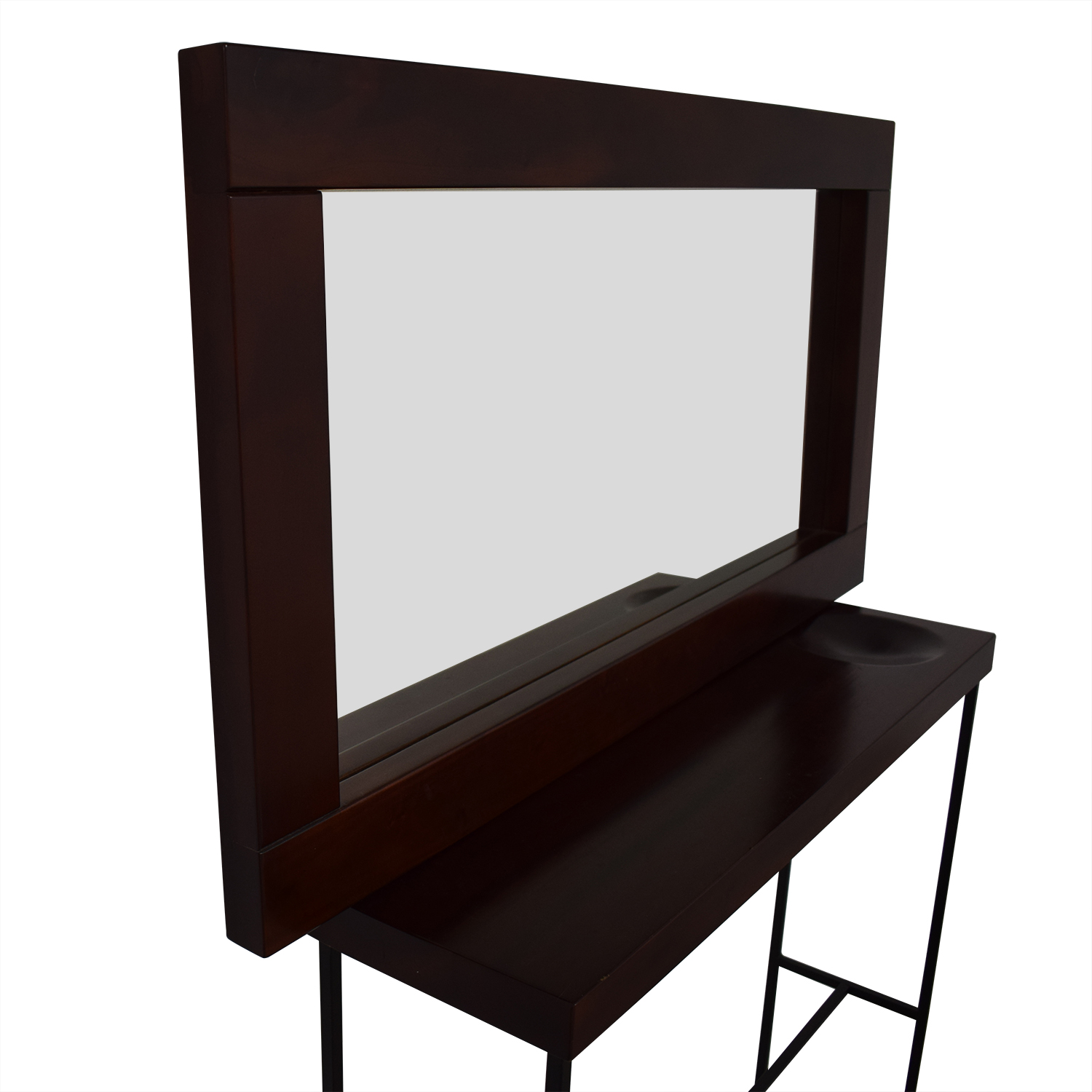 Hallway Mirror and Entrance Table Set discount
