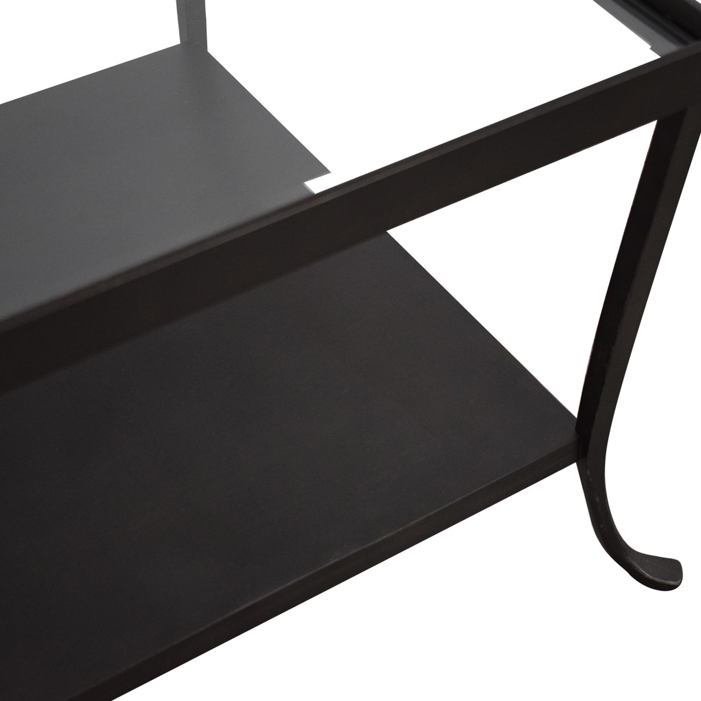 buy Crate & Barrel Crate & Barrel Transparent Coffee Table online
