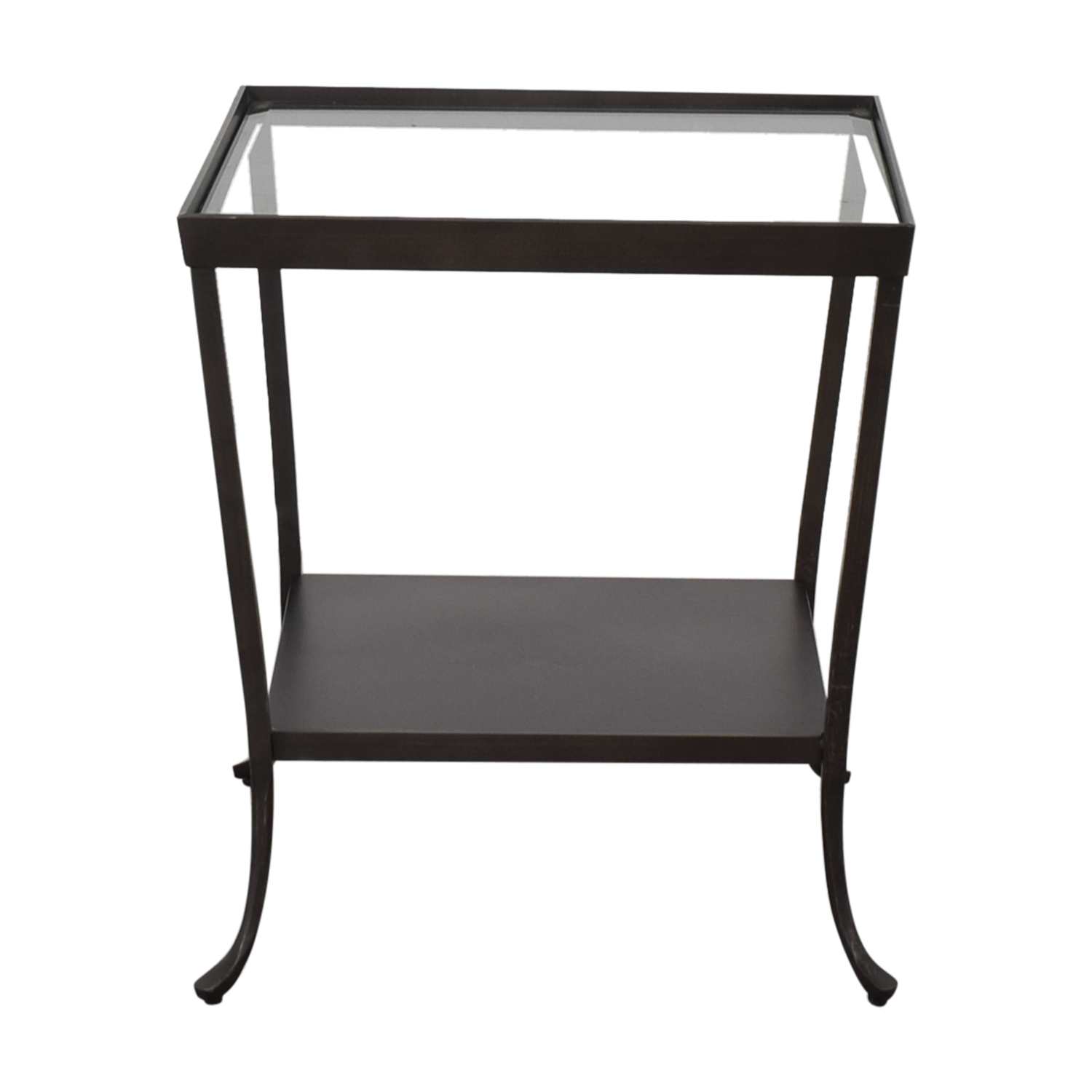 Crate & Barrel Side Table sale
