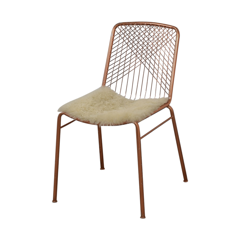 CB2 CB2 Alpha Brass Dining Chairs price