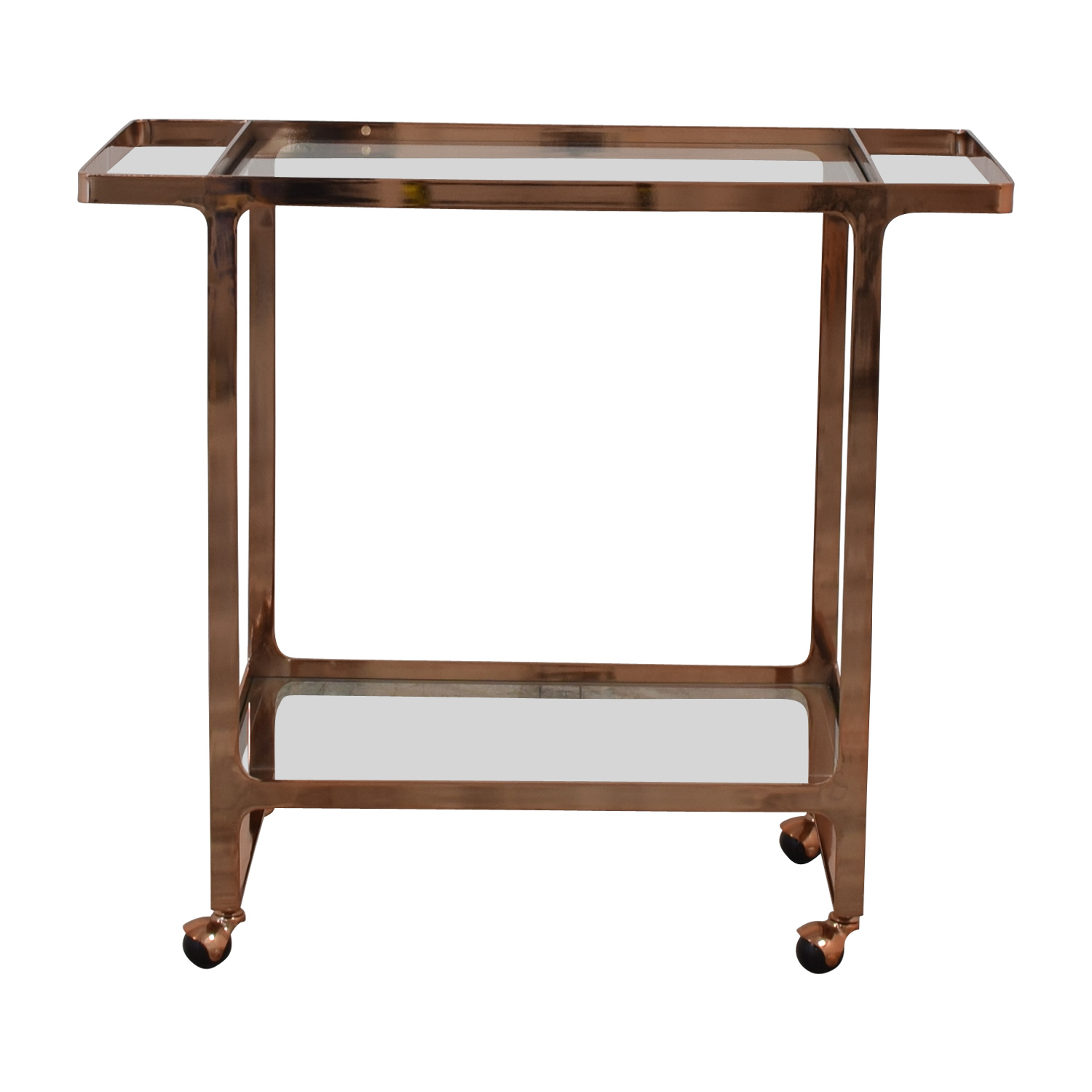 shop CB2 Dolce Vita Bar Cart CB2 Tables