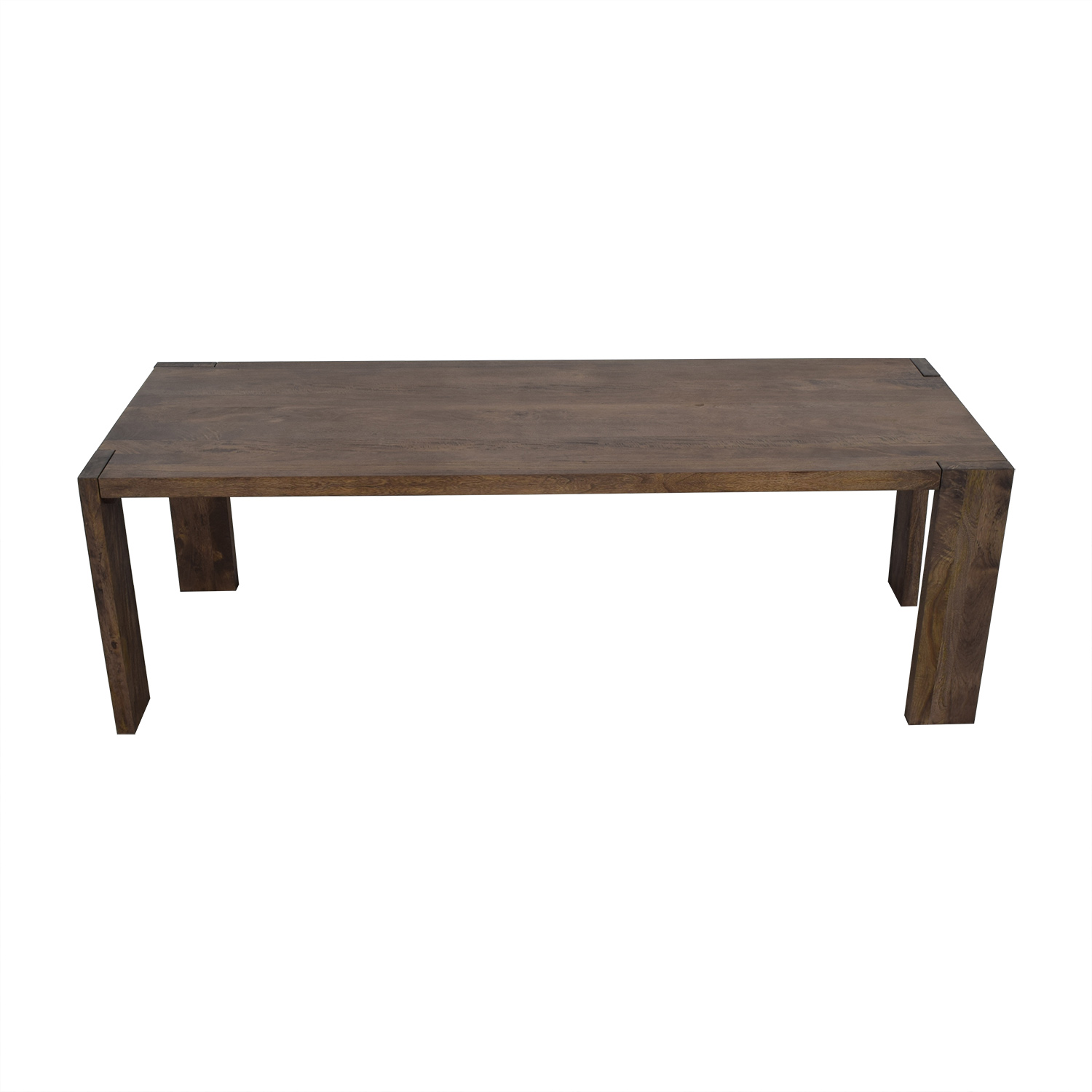 CB2 CB2 Blox Dining Table brown