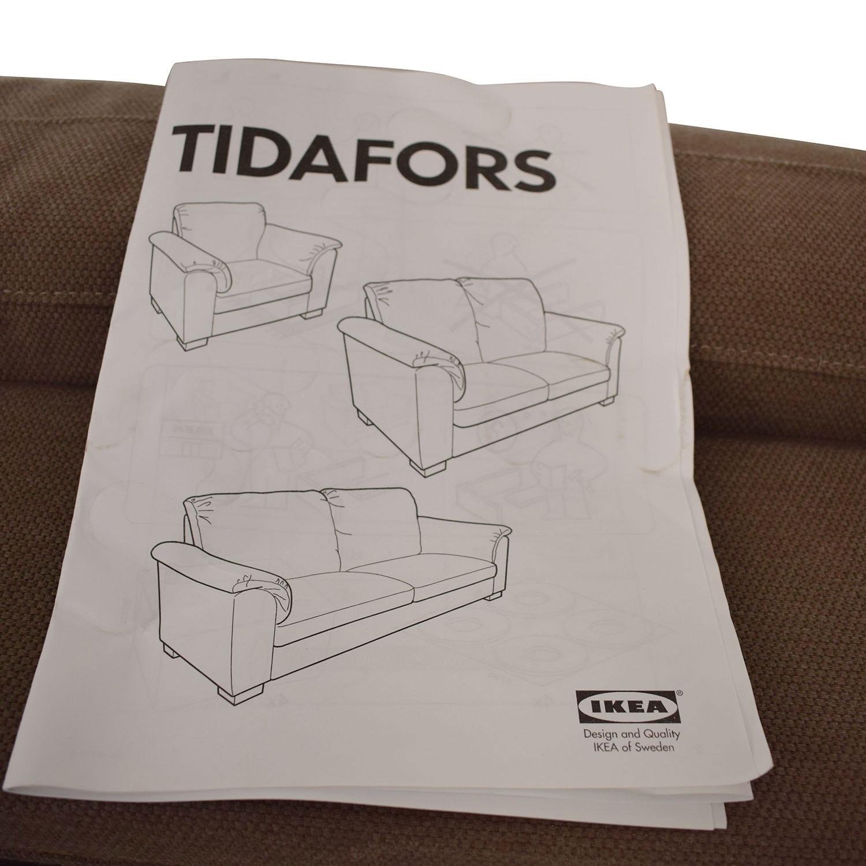 buy Ikea Tidafors Two Cushion Sofa IKEA Sofas