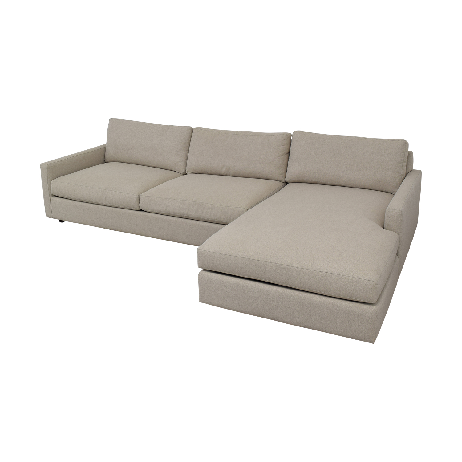 Room & Board Linger Sofa with Chaise / Sofas