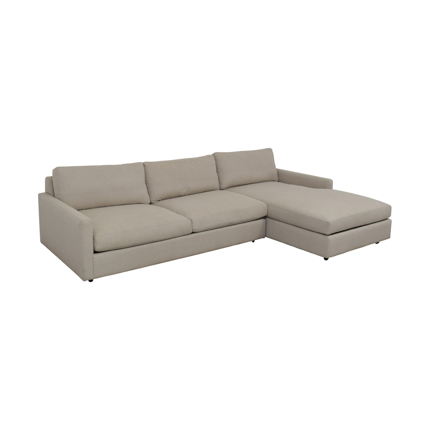 Room & Board Room & Board Linger Sofa with Chaise