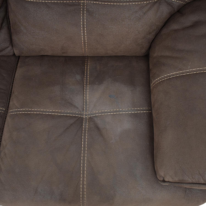 Raymour & Flanigan Raymour & Flanigan Microfiber Sectional Sofa second hand