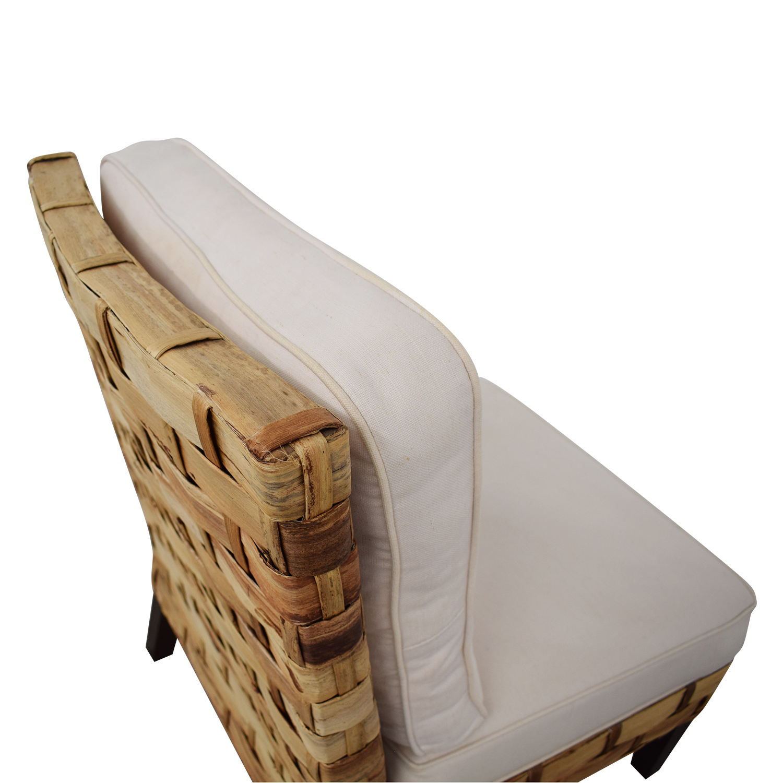 Palecek Slipper Chair / Accent Chairs