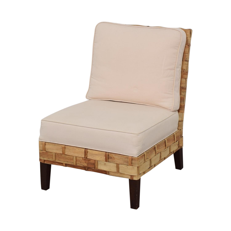 Palecek Palecek Slipper Chair dimensions