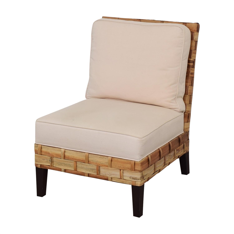 Palecek Palecek Slipper Chair Accent Chairs