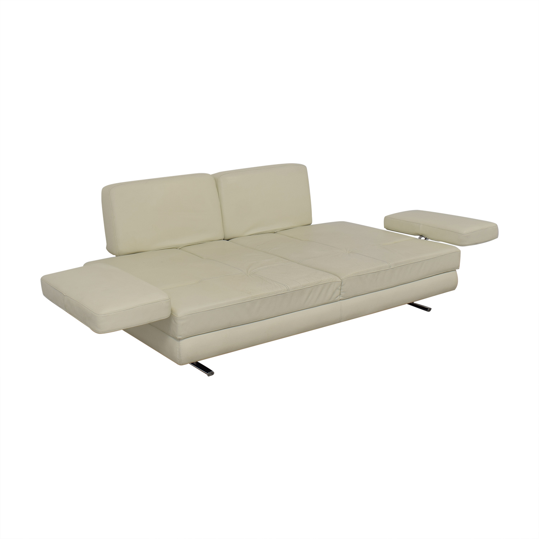 Lazzoni Lazzoni Mony White Full Size Sleeper Sofa coupon