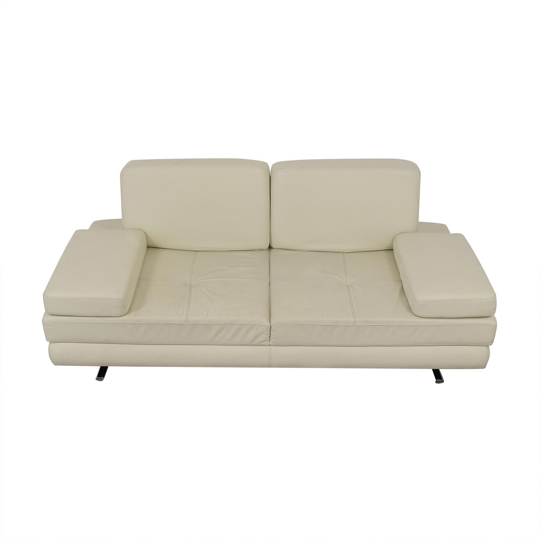 Lazzoni Lazzoni Mony White Full Size Sleeper Sofa off white