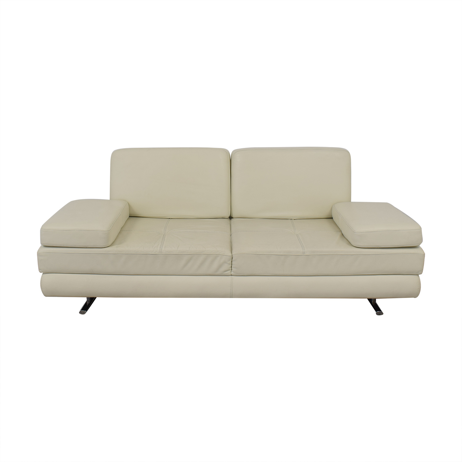 Lazzoni Lazzoni Mony White Full Size Sleeper Sofa nj