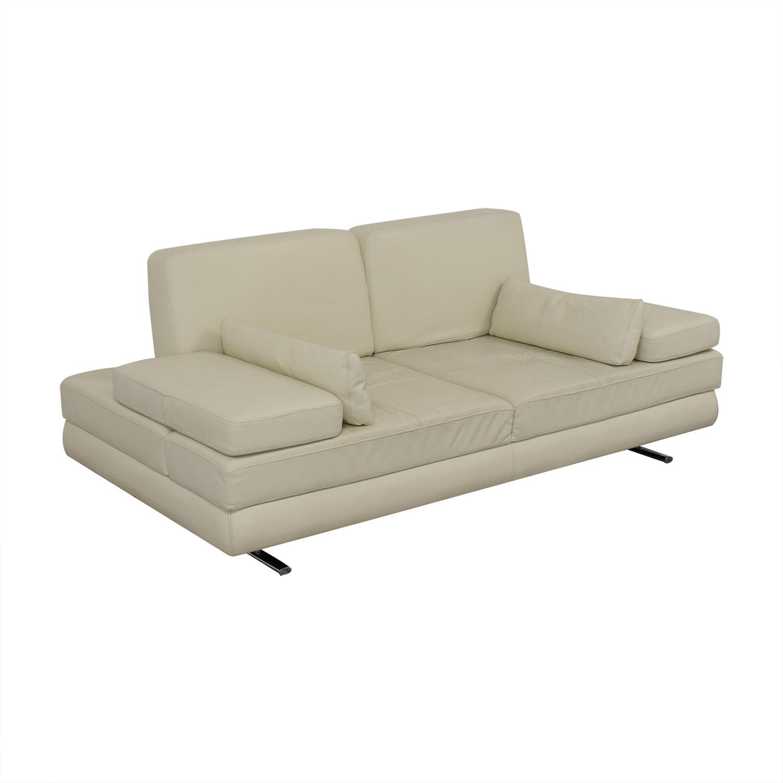 Lazzoni Lazzoni Mony White Full Size Sleeper Sofa price
