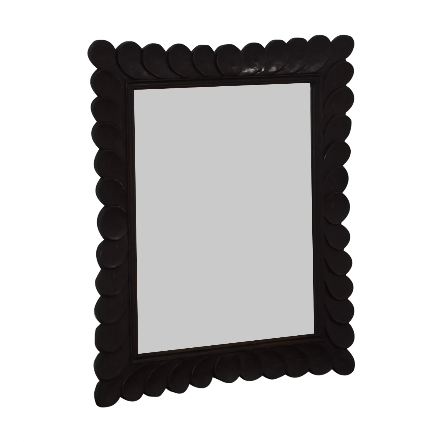 Crate & Barrel Crate & Barrel Feathered Mirror second hand