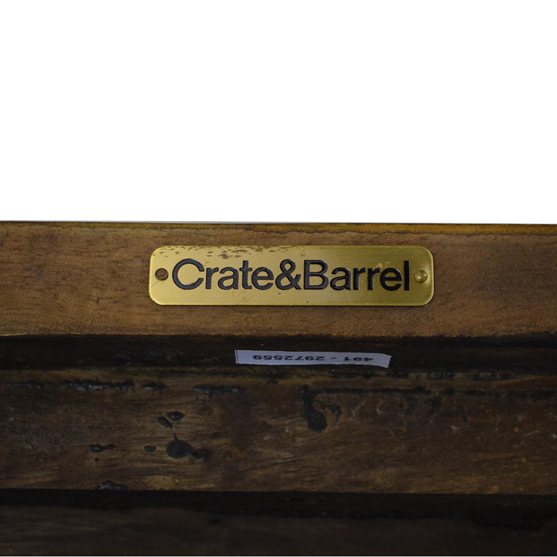 Crate & Barrel Basque Counter Stools sale