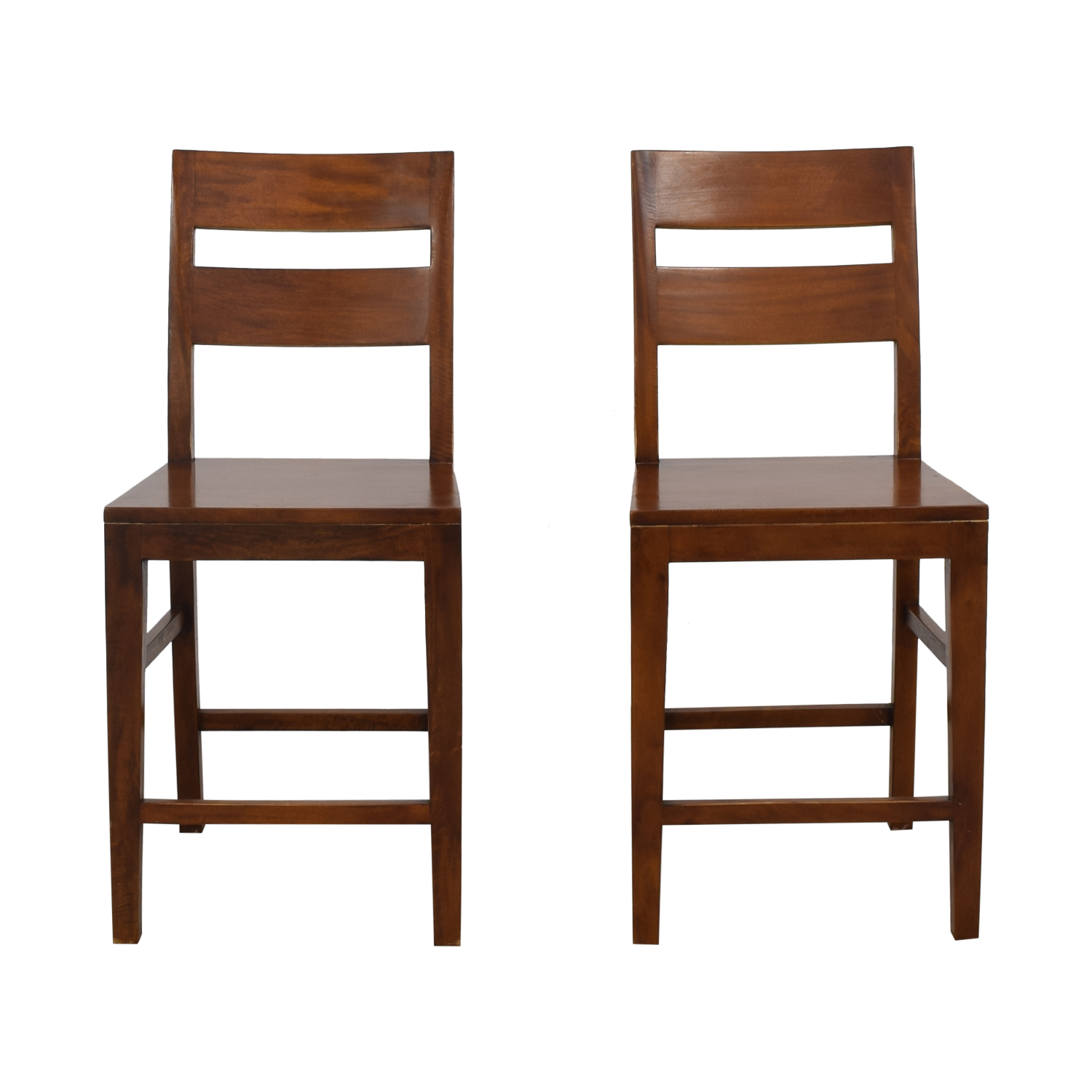 shop Crate & Barrel Basque Counter Stools Crate & Barrel