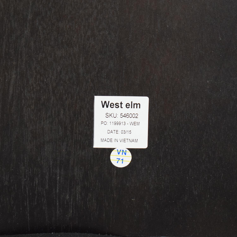 West Elm Angled Leg Expandable Table sale