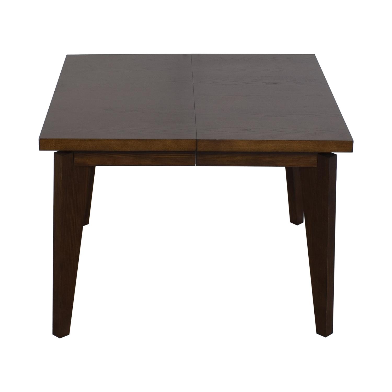 shop West Elm Angled Leg Expandable Table West Elm Tables