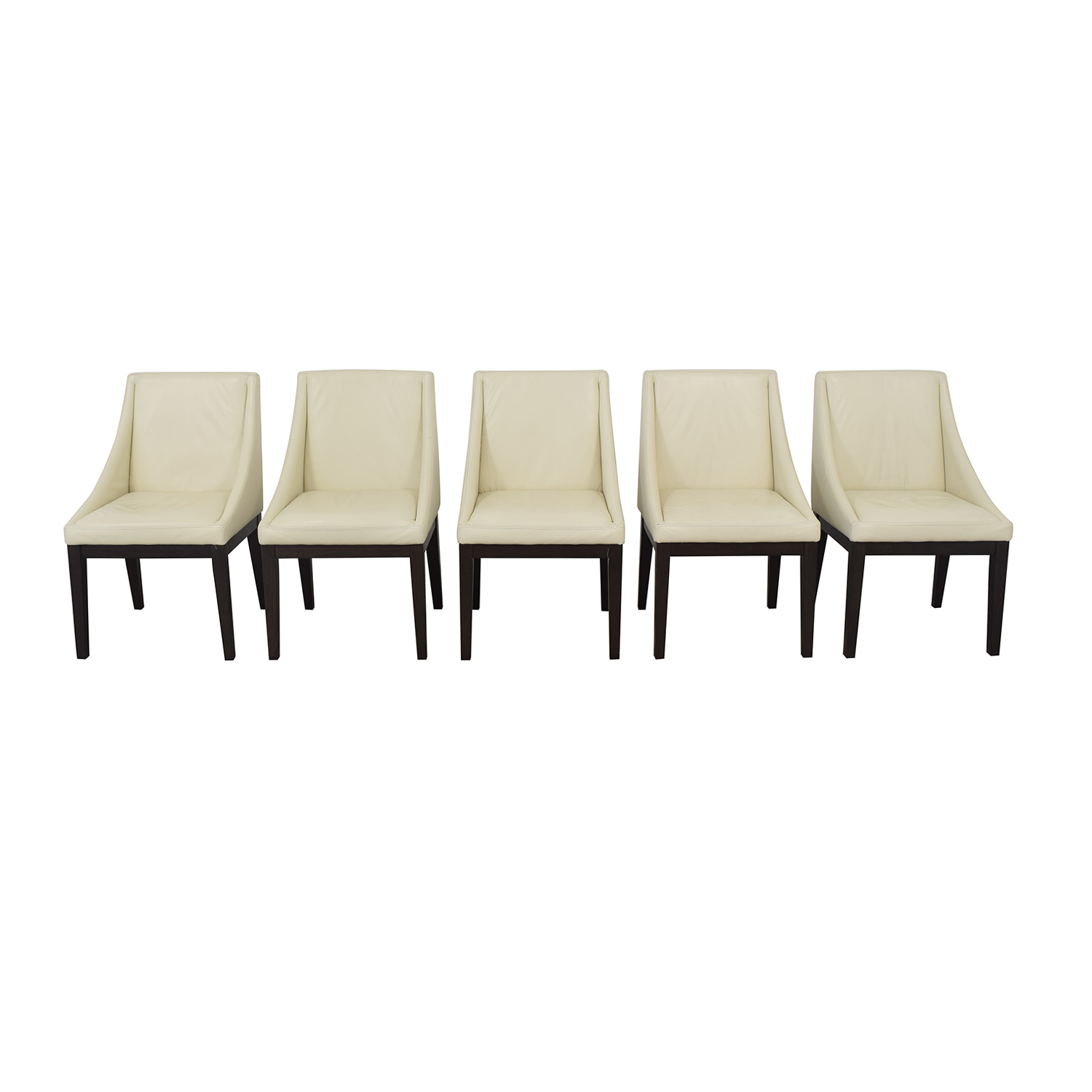 shop West Elm West Elm Curved Upholstered Chairs online