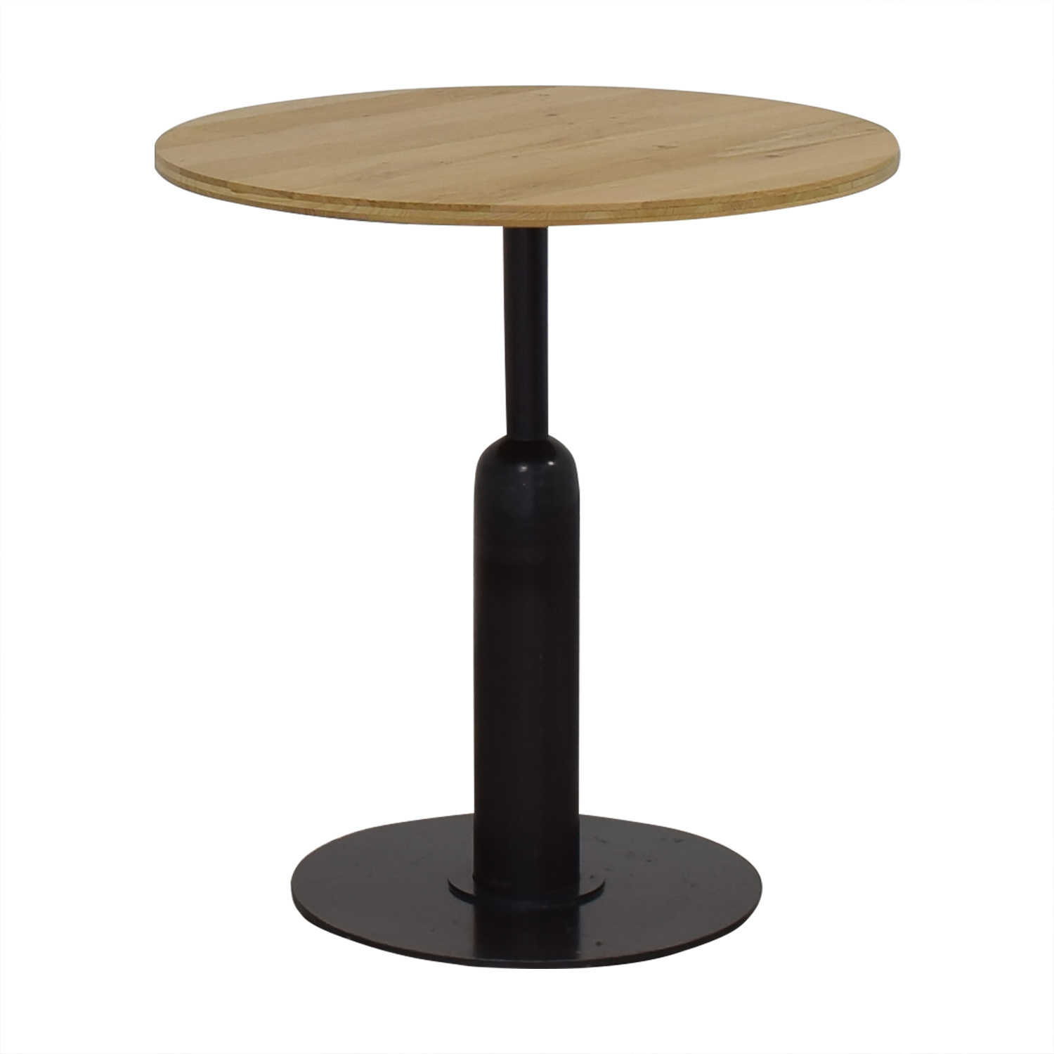 Round Kitchen Table with Column Base sale