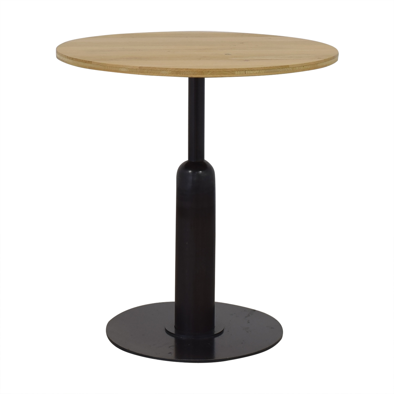 Round Kitchen Table with Column Base for sale