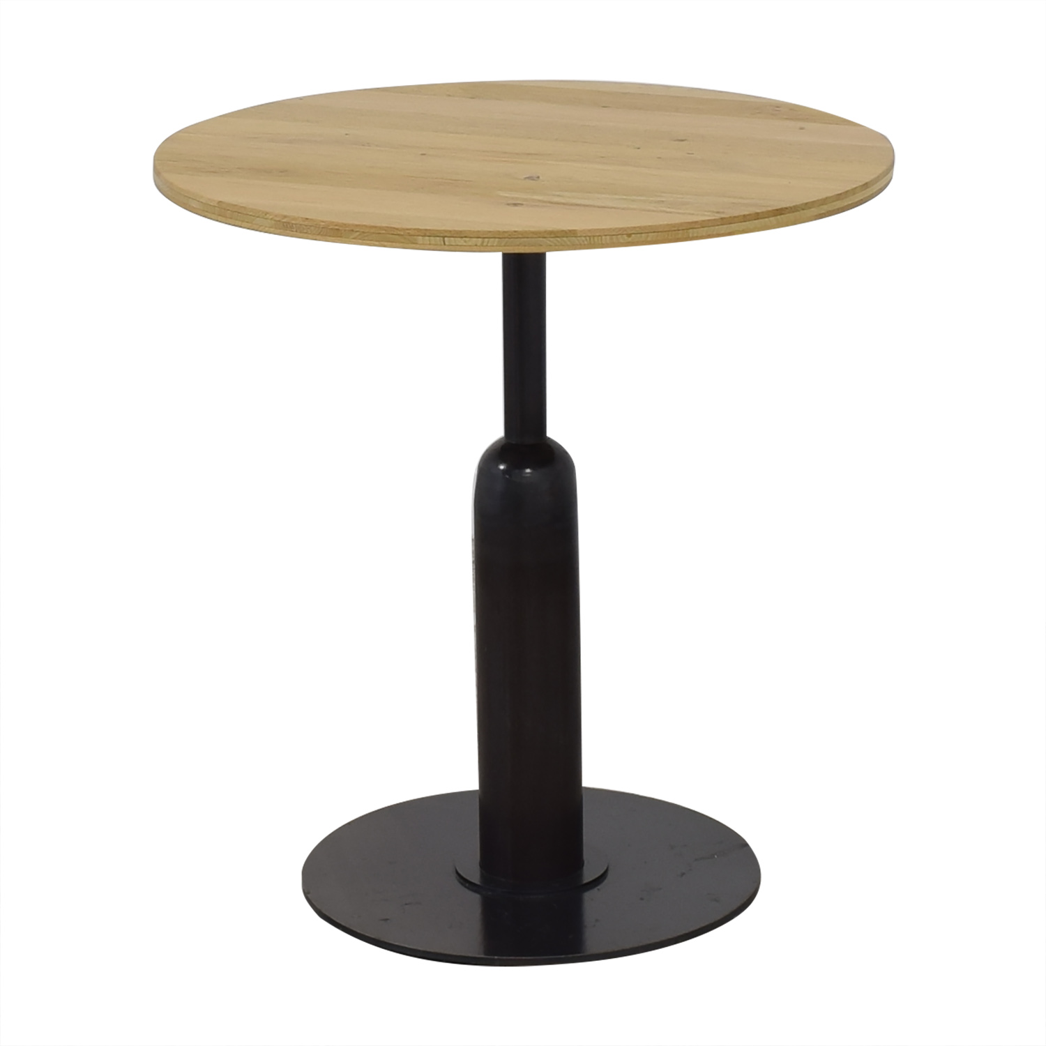 buy Round Kitchen Table with Column Base  Tables