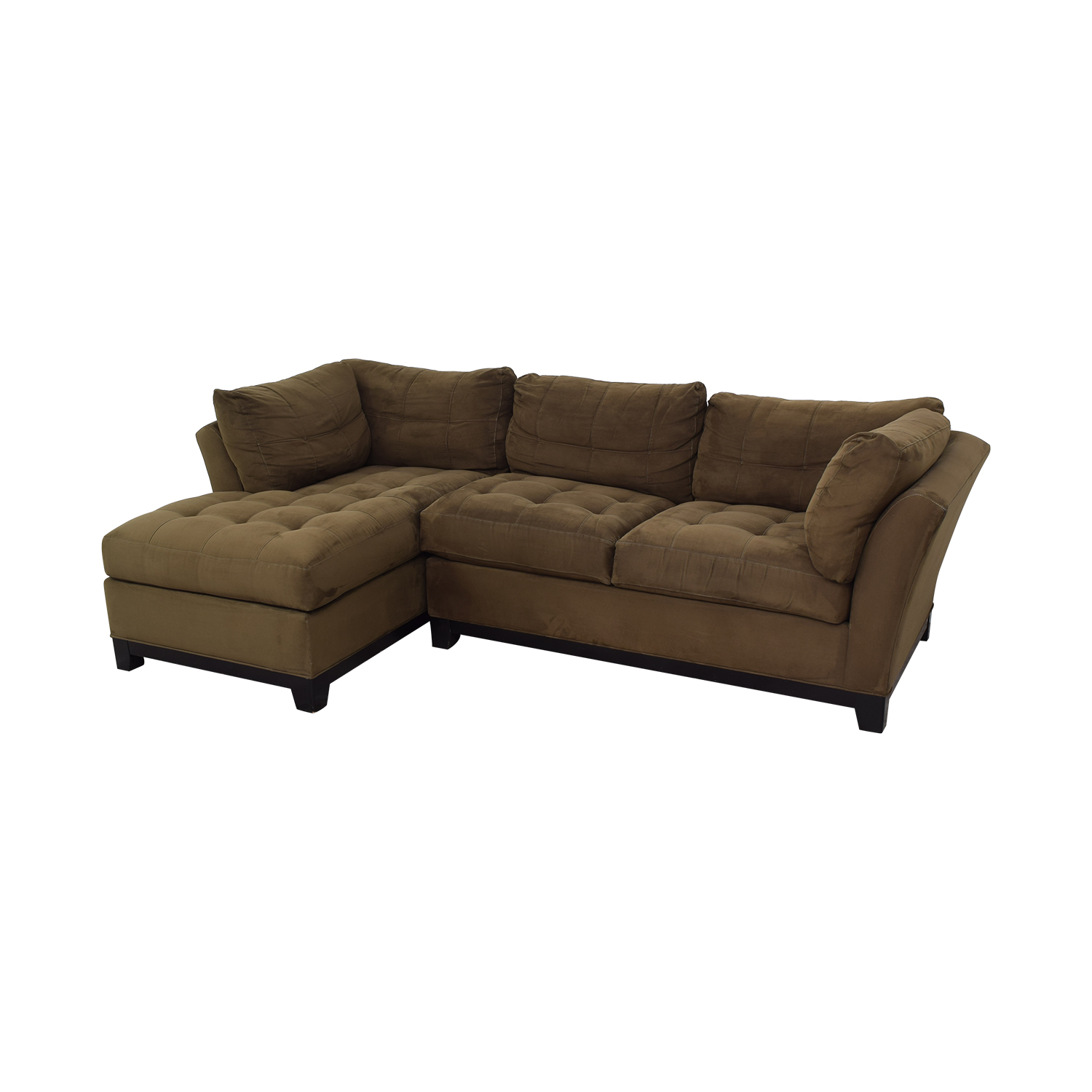 Cindy Crawford Home Cindy Crawford Home Metropolis Sectional Sofa dimensions