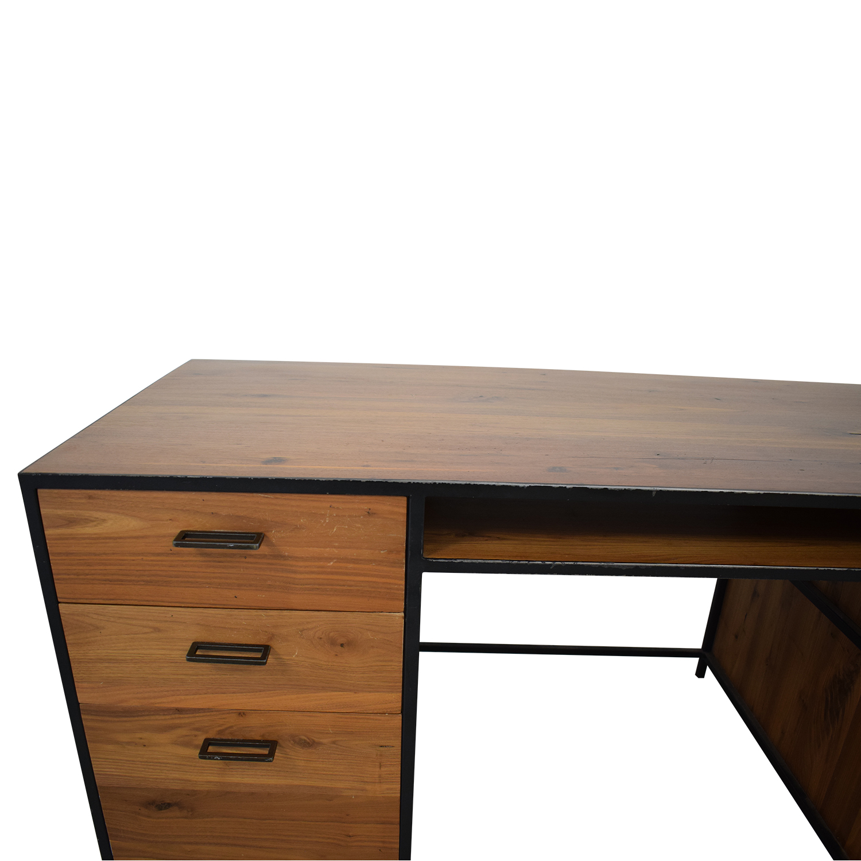 West Elm Industrial Office Desk sale