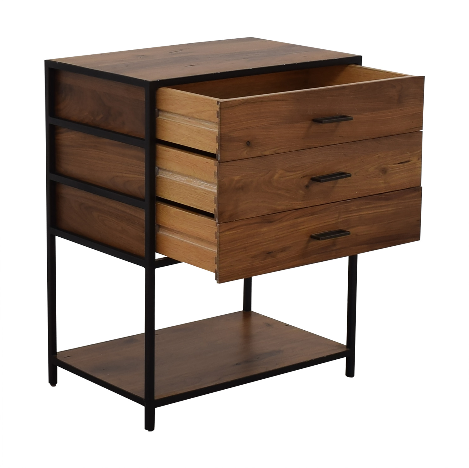 West Elm West Elm Industrial Storage Shelf with Drawers price