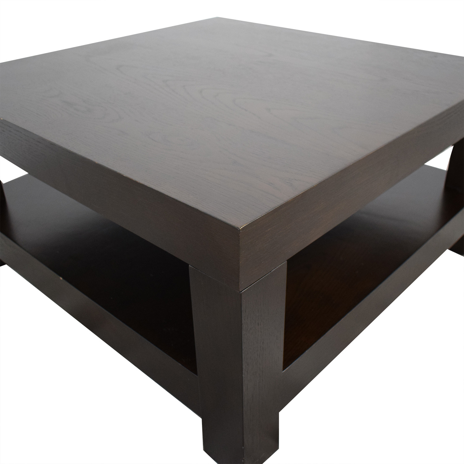 West Elm West Elm Parsons Coffee Table dark brown