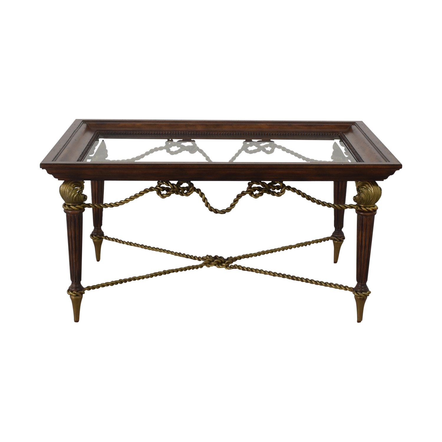 La Barge Glass Dining Table / Tables