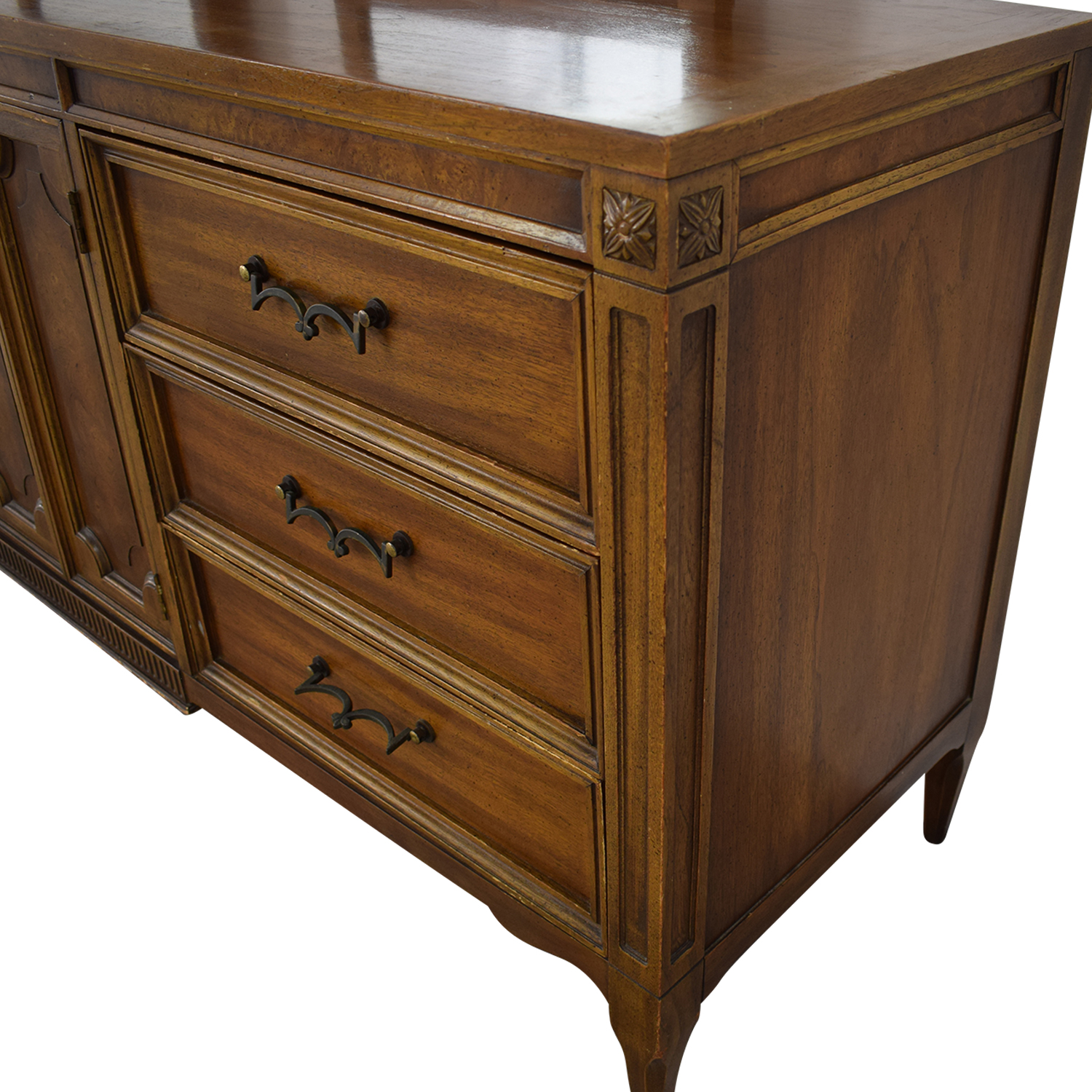 buy American of Martinsville American of Martinsville Vintage Dresser with Mirrors online