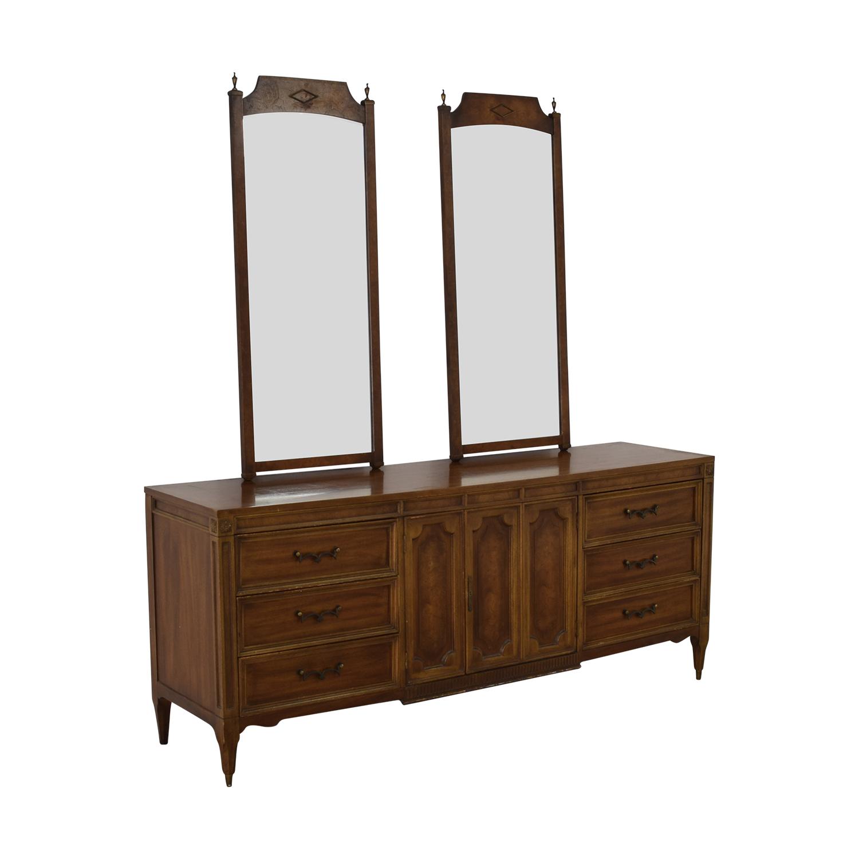 shop American of Martinsville Vintage Dresser with Mirrors American of Martinsville Decor