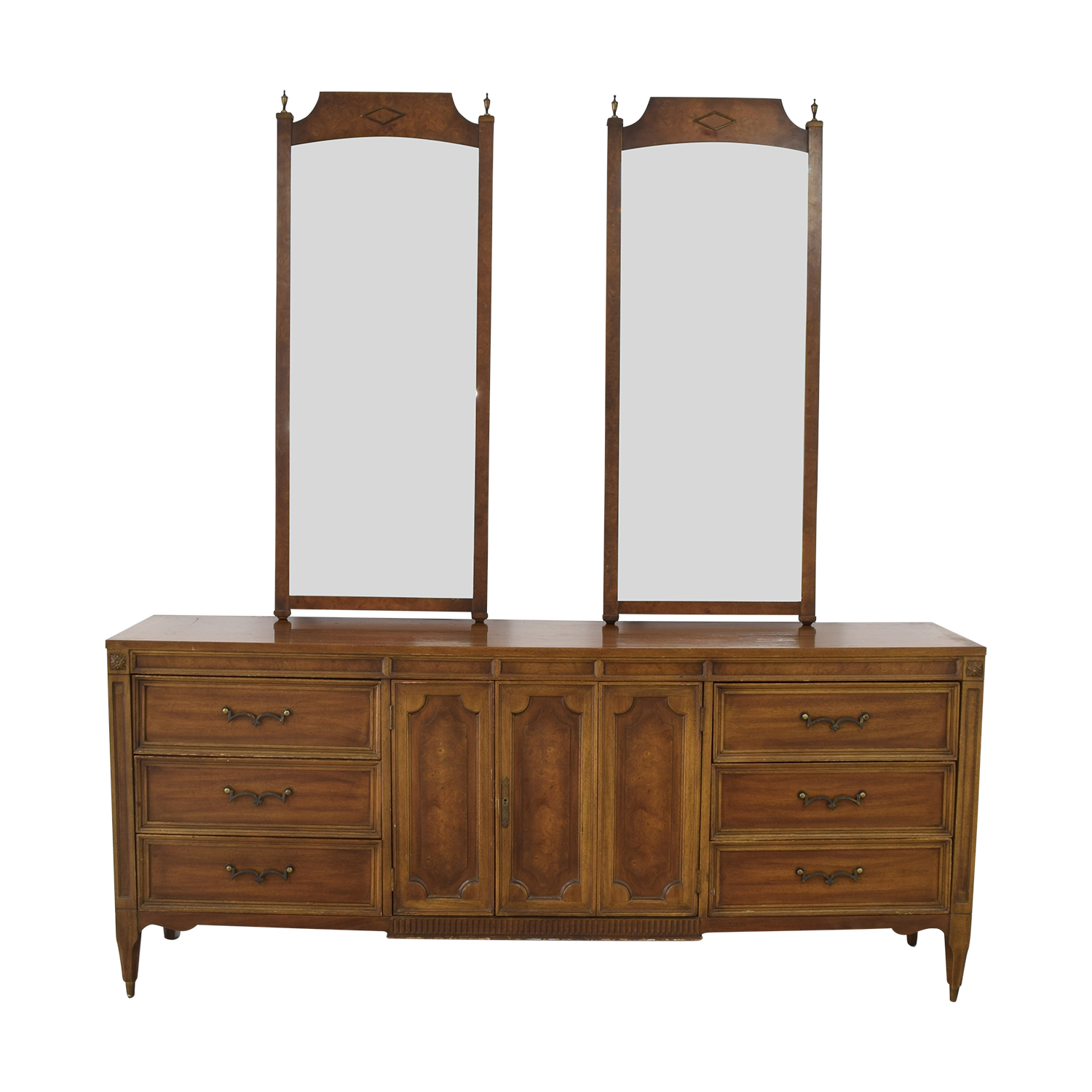 buy American of Martinsville Vintage Dresser with Mirrors American of Martinsville Mirrors
