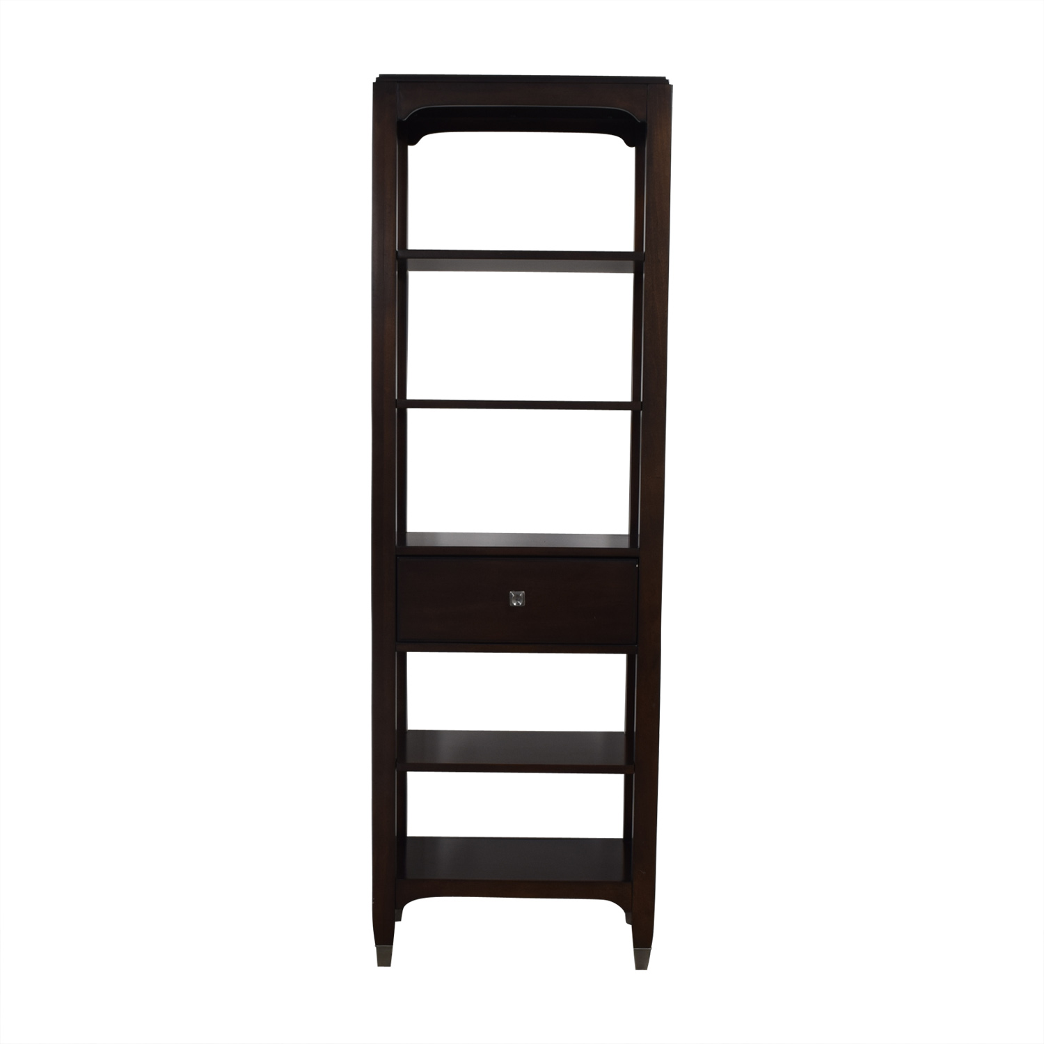 Bassett Furniture Bassett Furniture Tower Shelf with Drawer coupon