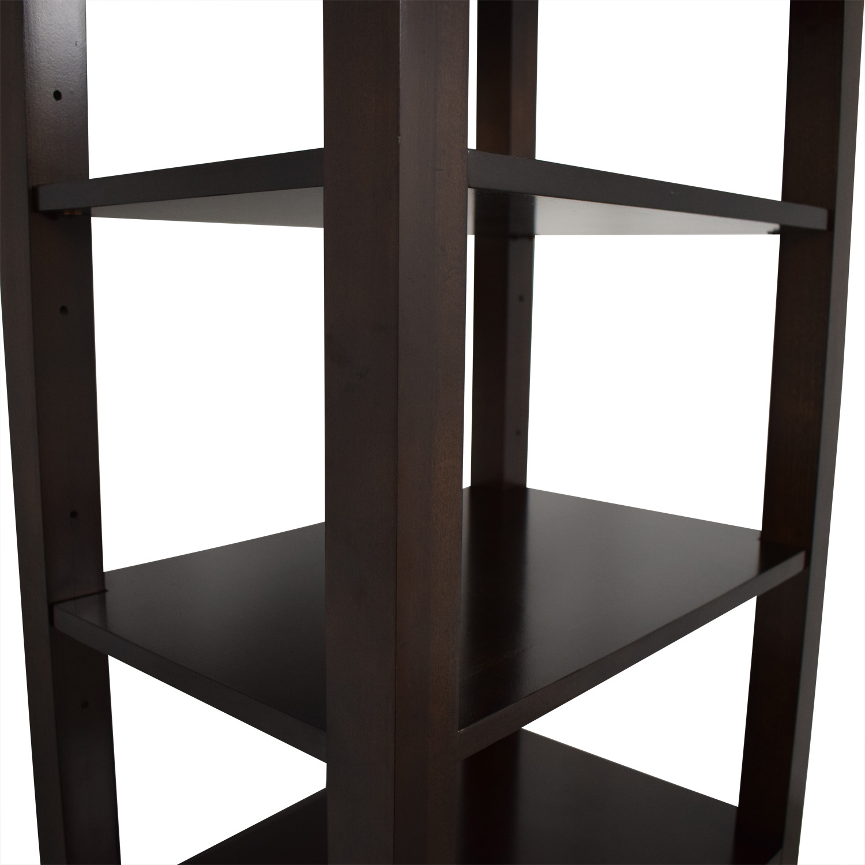 Bassett Furniture Bassett Furniture Tower Shelf with Drawer discount
