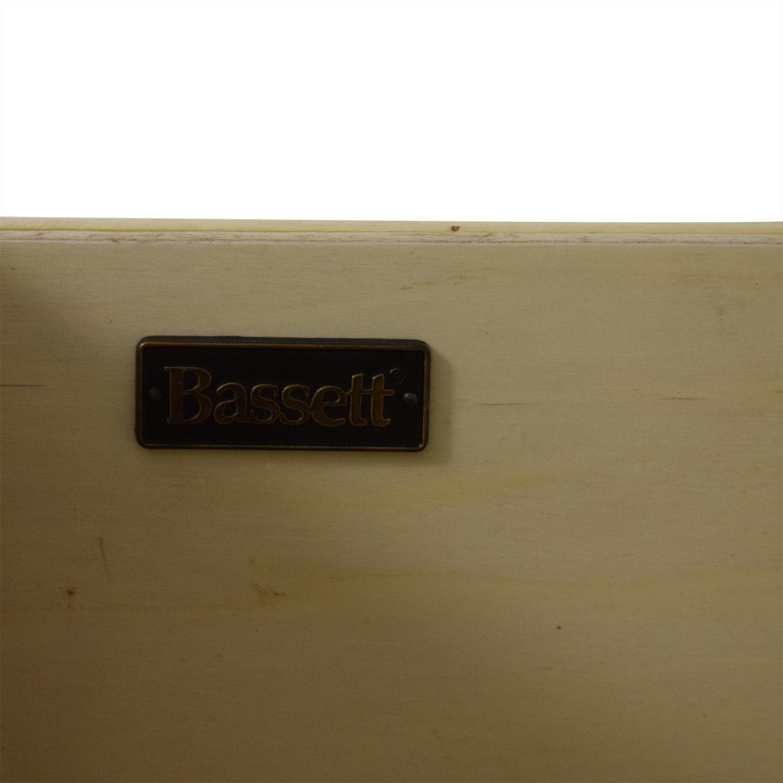 Bassett Furniture Bassett Furniture Tower Shelf with Drawer dark brown