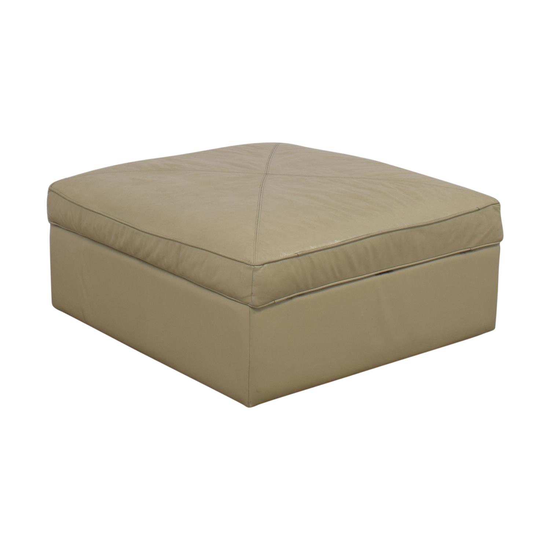 Bassett Furniture Square Storage Ottoman sale