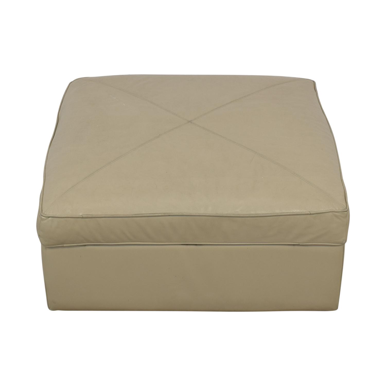 Bassett Furniture Bassett Furniture Square Storage Ottoman used