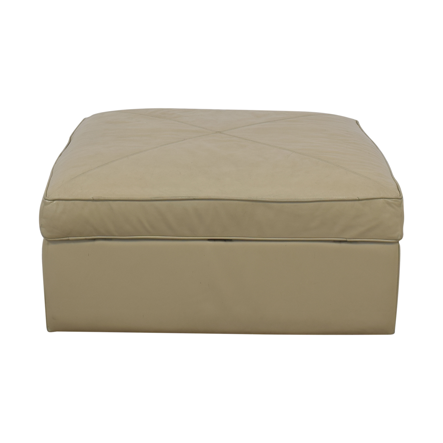 Bassett Furniture Bassett Furniture Square Storage Ottoman Ottomans