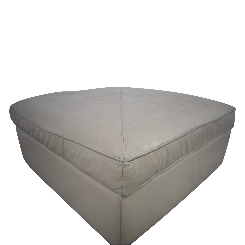 buy Bassett Furniture Bassett Furniture Square Storage Ottoman online