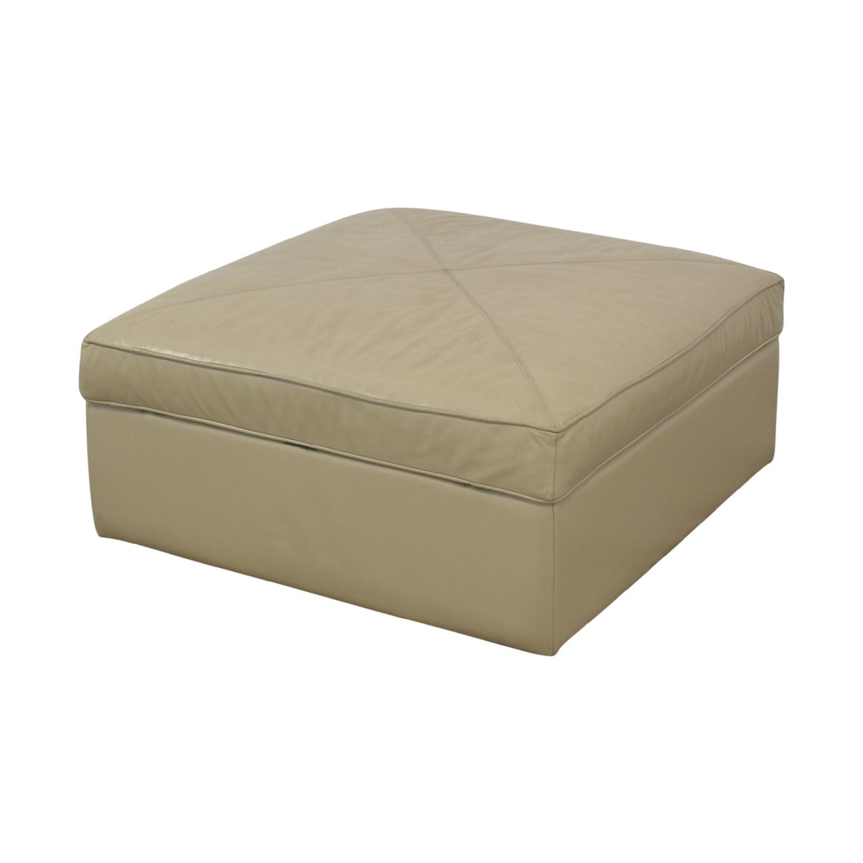 Bassett Furniture Bassett Furniture Square Storage Ottoman nyc