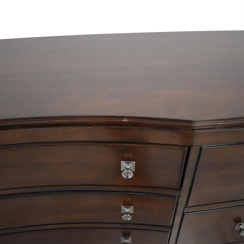 Bassett Furniture Bassett Nine Drawer Dresser