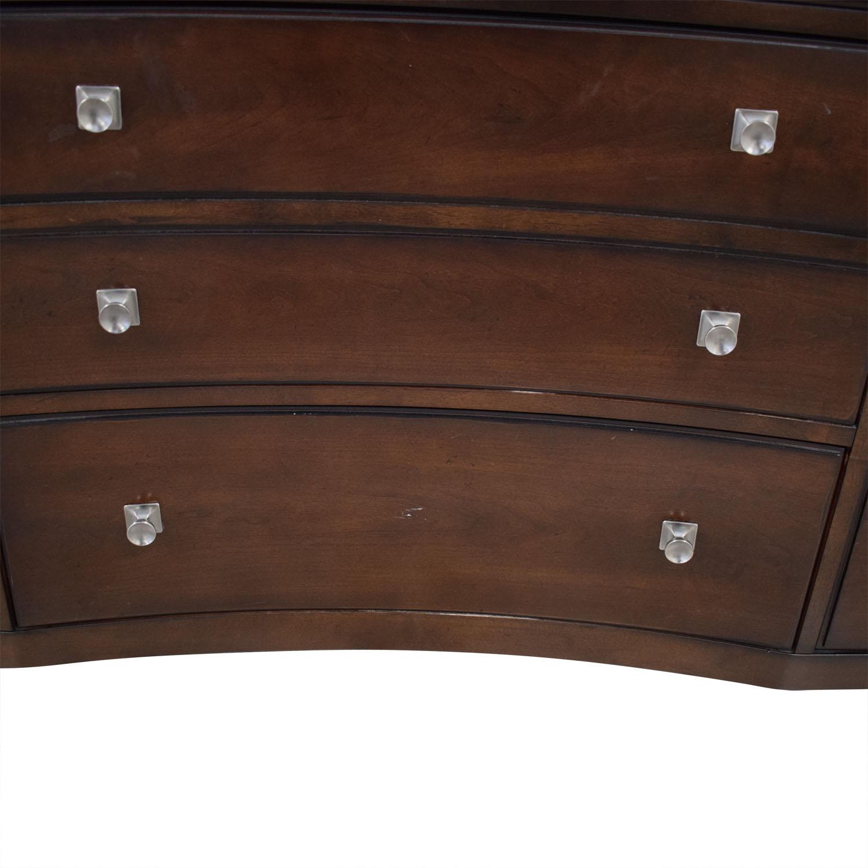 Bassett Furniture Bassett Nine Drawer Dresser second hand
