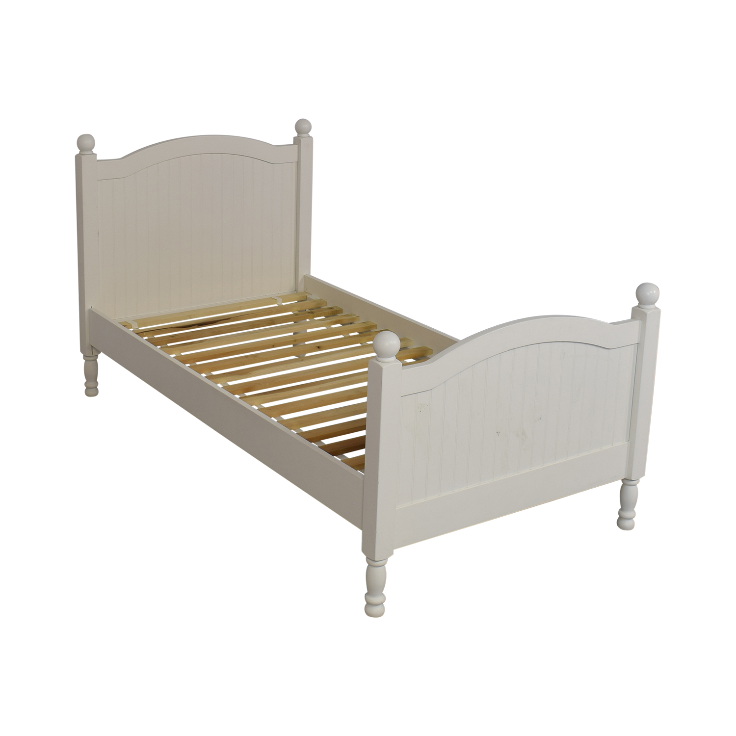 83 Off Pottery Barn Kids Pottery Barn Kids Catalina Twin Bed Simply White Beds