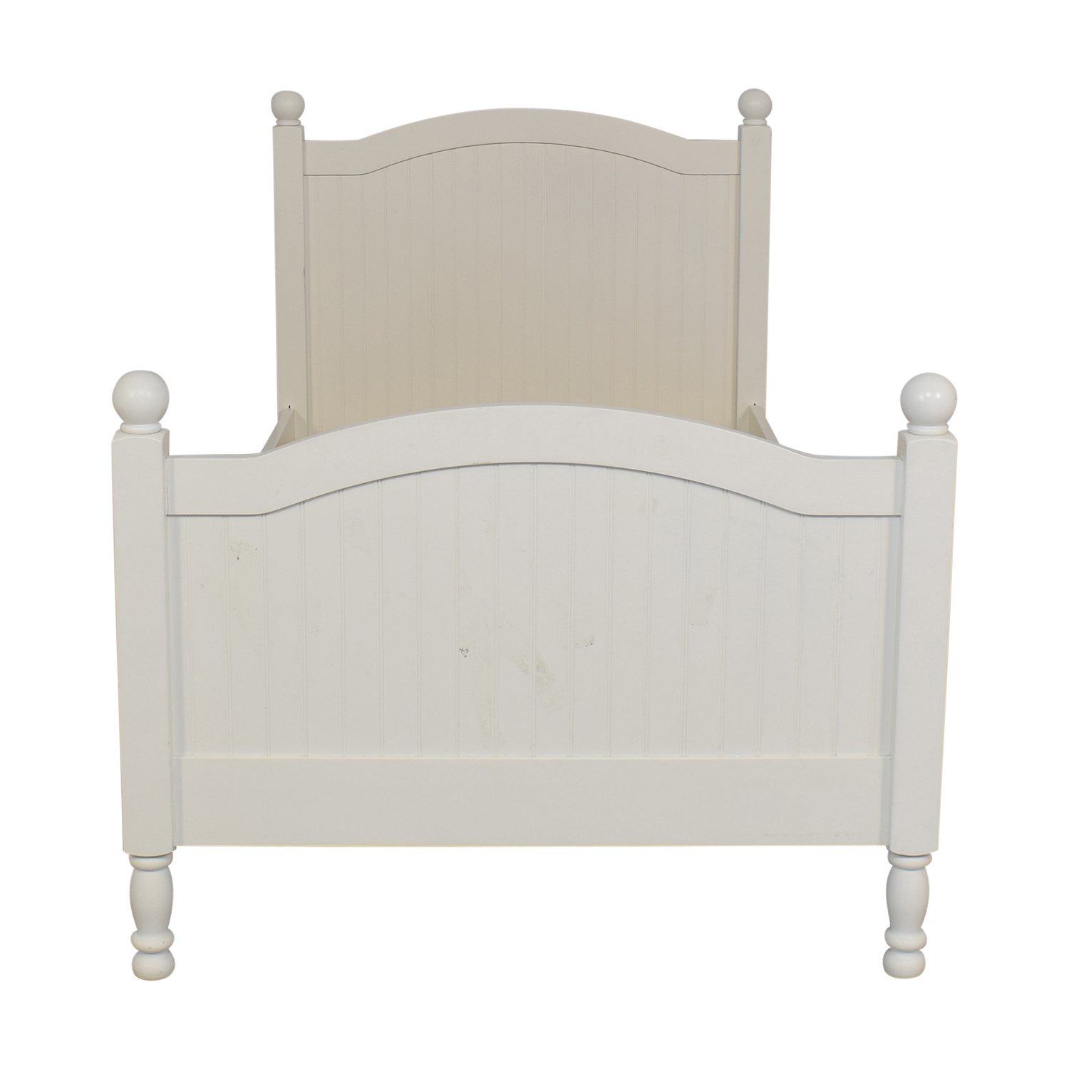 Pottery Barn Kids Pottery Barn Kids Catalina Twin Bed Simply White price
