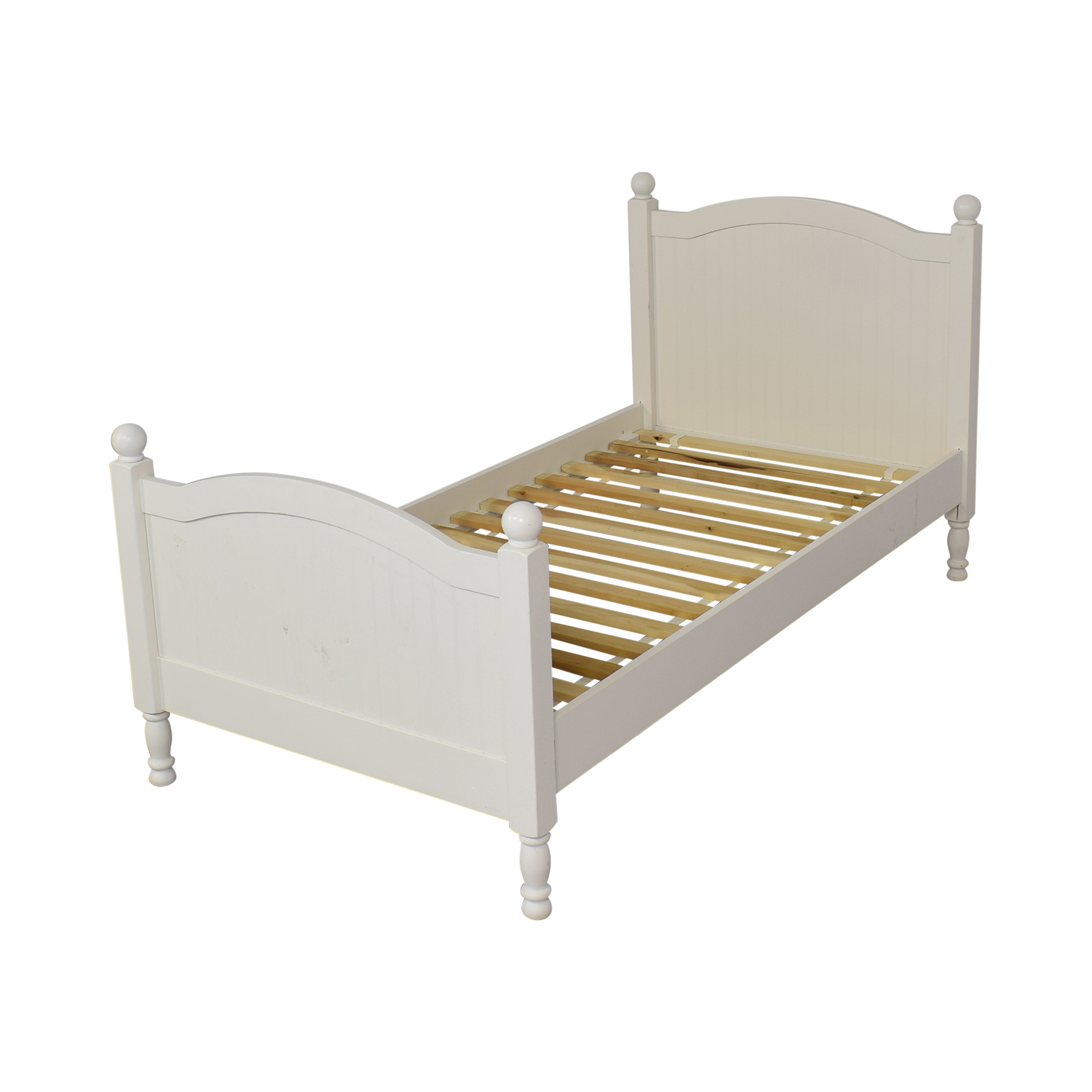 Pottery Barn Kids Pottery Barn Kids Catalina Twin Bed Simply White Beds