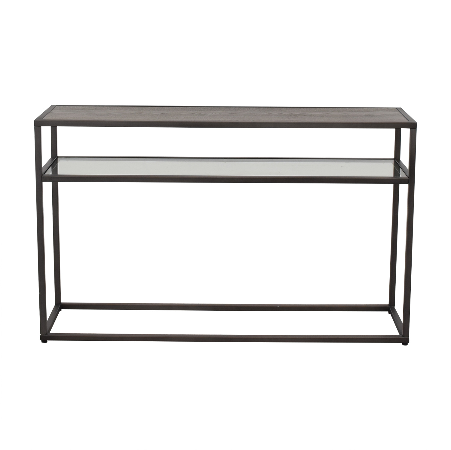 Crate & Barrel Switch Console Table / Accent Tables